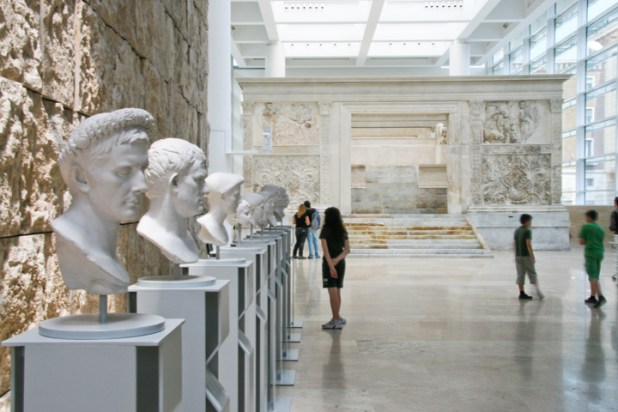 Ara Pacis Museum.Copyright Ruth and Rick Meghiddo, 2010. All Rights Reserved.