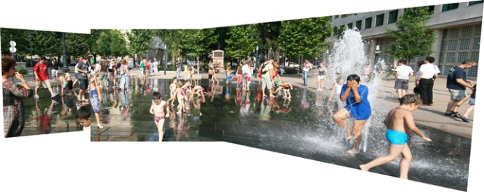 Fountain, Budapest. Copyright Ruth and Rick Meghiddo, 2010. All Rights Reserved.