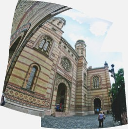 Dohány Street Synagogue.Copyright Ruth and Rick Meghiddo, 2010. All Rights Reserved.