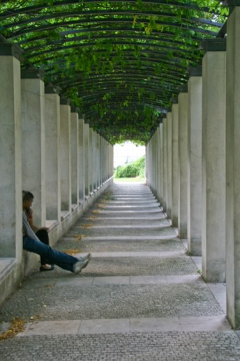 Parc de Bercy.Copyright Ruth and Rick Meghiddo, 2010. All Rights Reserved.