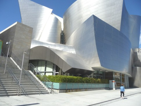 Walt Disney Concert Hall.Copyright Ruth and Rick Meghiddo, 2012. All Rights Reserved.