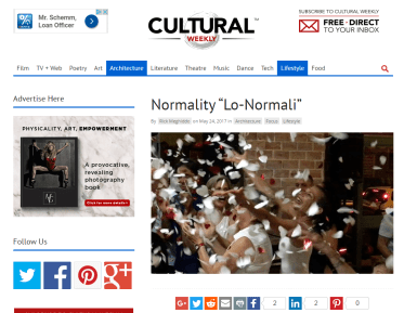 Cultural Weekly - Normality Lo-Normali