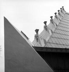 Beth Sholom Congregation, Philadelphia, PA, 1959. R&R Meghiddo, 1971, All Rights Reserved.