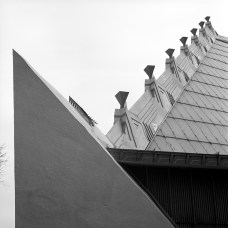 Beth Sholom Congregation, Philadelphia, PA, 1959. R&R Meghiddo, 1971, All Rights Reserved.