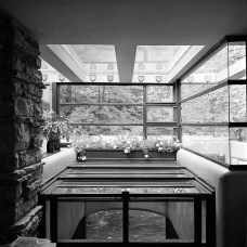 "Kaufmann Residence, ""Fallingwater,"" Bear Run, PA, 1939. R&R Meghiddo, 1971, All Rights Reserved."