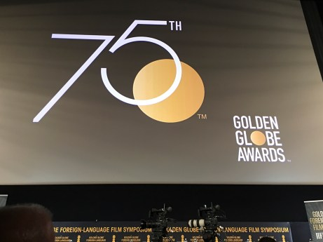 Golden Globes Awards 75th Anniversary