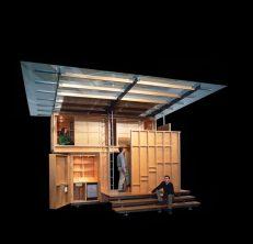La Petitte Maison do Weekend. Patkau Architects.Photo: Benjamin