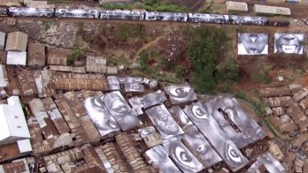 JR, Kibera Slum, Kenya