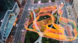 Janet Echelman, Urban Sculpture