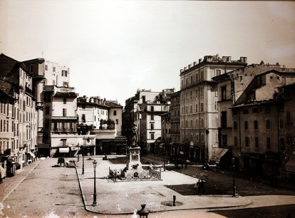 The square in 1895