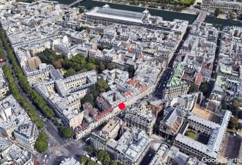 Rue du Bac, Google Maps.