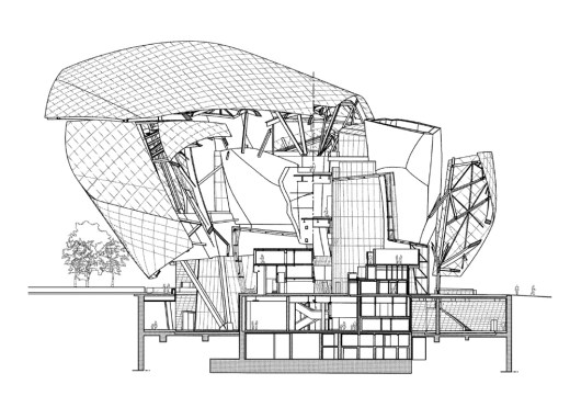 Section Courtesy of Frank Gehry Partners