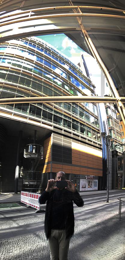 Sony Center - Architect: Helmut Jahn. © R&R