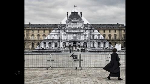 JR, Louvre