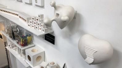Sculptures. Elisabeth Orleans.