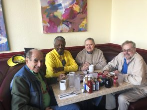 With Alex Norman, Jack Humphrey and Bill Crampton