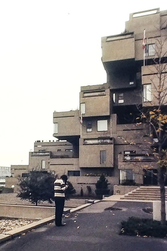 Rick. Habitat 67. Architect: Moshe Safdie. Photo: R&R Meghiddo.