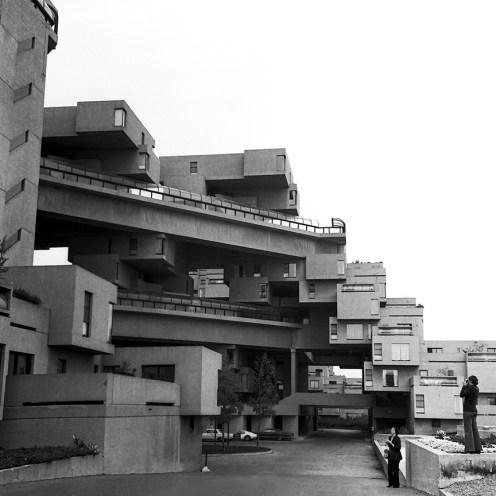 Habitat 67. Architect: Moshe Safdie. Photo: R&R Meghiddo.