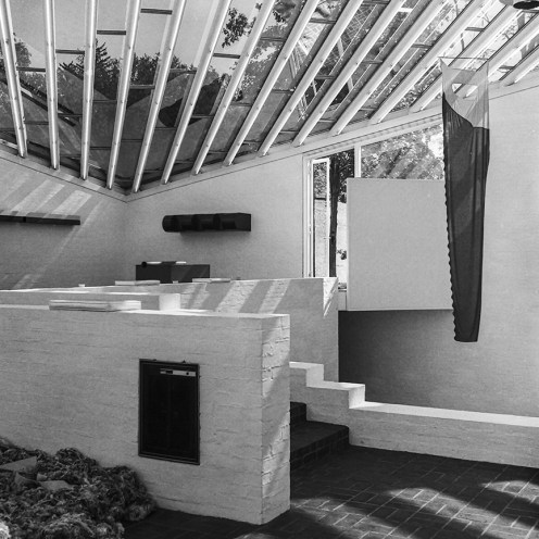 Art Collection Gallery, New Canaan. Architect: Philip Johnson. Photo: R&R Meghiddo.