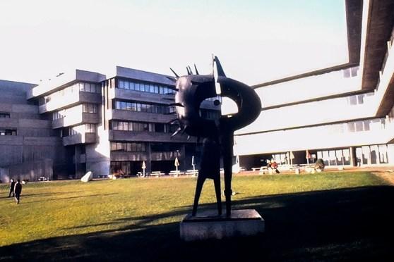 The University of Toronto at Scarborough, 1964. Architect: John Andrews. Photo: R&R Meghiddo.