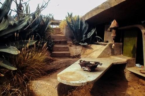Paolo Soleri Residence and Studio, Scottsdale, AZ, 1971. Photo: R&R Meghiddo.