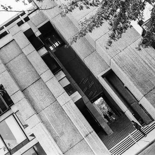 Yale Art and Architecture Building, 1963. Architect: Paul Rudolph. Photo: R&R Meghiddo.