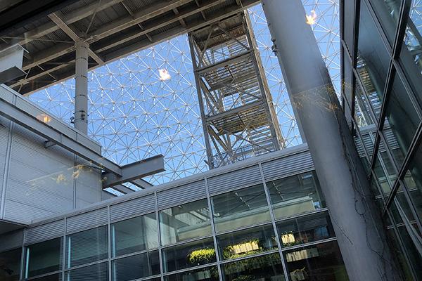 Biosphere Dome, 2018. Photo: R&R Meghiddo.