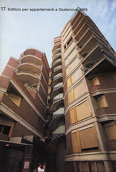 Apartment building in Rome
