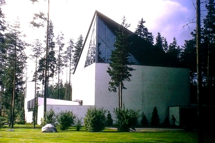 Cemetery Chapel, Finland - © R&R Meghiddo 1968 – All Rights