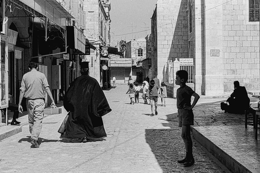 Old City of Jerusalem -© R&R Meghiddo 1967 – All Rights Reserved