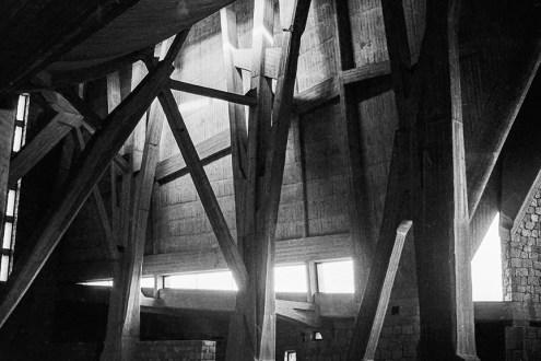 San Giovanni Battista, 1963. Architect: Giovanni Michelucci -© R&R Meghiddo 1967 – All Rights Reserved