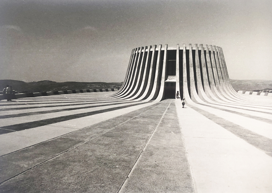Jerusalem - Kennedy Memorial, 1966. Architect: David Resnick - © R&R Meghiddo 1977 – All Rights Reserved