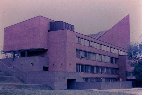 Otaniemi - Undergraduate University, 1965. Architect: Alvar Aalto - © R&R Meghiddo 1968 – All Rights