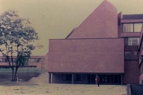 Otaniemi - Undergraduate Center, 1965. Architect: Alvar Aalto - © R&R Meghiddo 1968 – All Rights Reserved