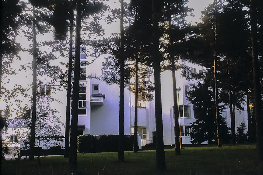Paimio Sanatorium, 1933. Architect: Alvar Aalto - © R&R Meghiddo 1968 – All Rights Reserved
