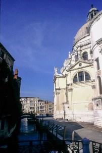 Venice - Santa Maria della Salute, 1631-1687. Architect: Baldassare Longhena © R&R Meghiddo 1967 – All Rights Reserved