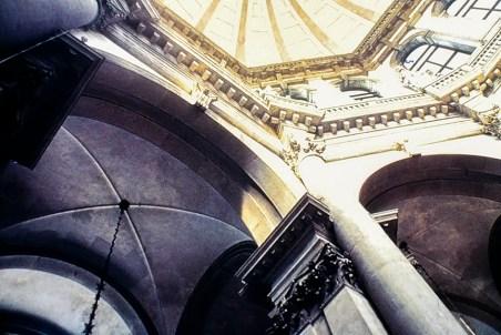 Venice - Santa Maria della Salute, 1631-1687 - Architect: Baldassare Longhena - © R&R Meghiddo 1967 – All Rights Reserved
