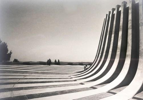 Jerusalem - Kennedy Memorial, 1966. Architect: David Resnick - © R&R Meghiddo 1977 – All Rights Reserved
