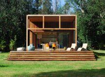 Casa in legno sopraelevata