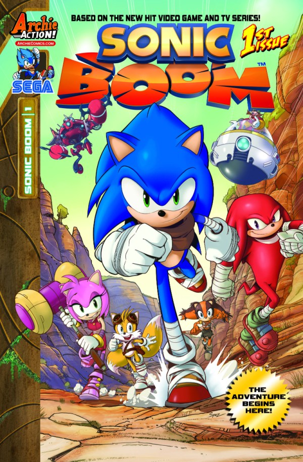 Archie Comics Brings the Funny in Sonic Boom 1 Preview