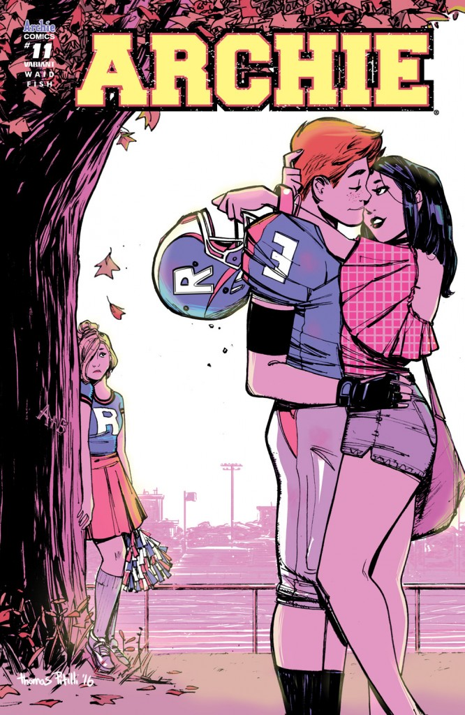 Take a look ahead at the Archie Comics August 2016