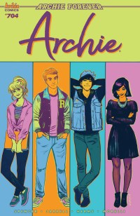 Image result for archie #704 cover