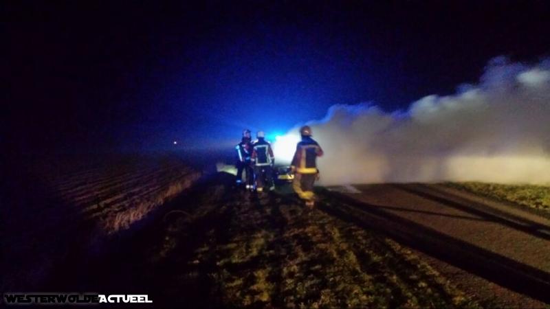 2015-03-18 Autobrand Heideweg Onstwedde