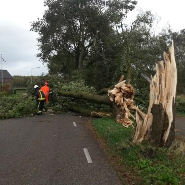2013-10-28 Stormschade Onstwedde