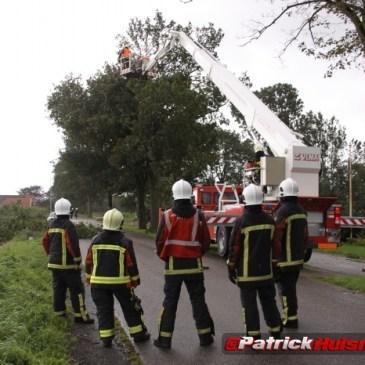 2011-09-07 stormschade Holte Onstwedde