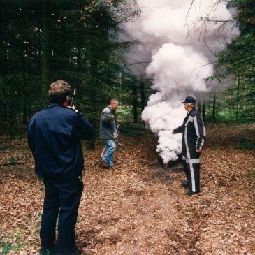 1996-06-24 Bosbrand oefening