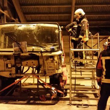 2015-12-01 Oefening HV vrachtauto