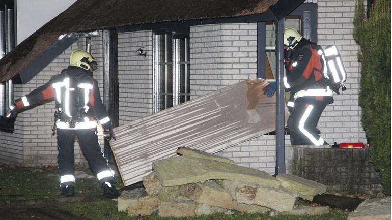 25-01-2017 schoorsteenbrand Wedde