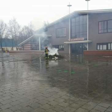 31-12-2017 Oud en Nieuw brand Vlagtwedde