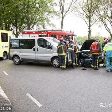 01-05-2018 ongeval Wensenkampweg Vlagtwedde